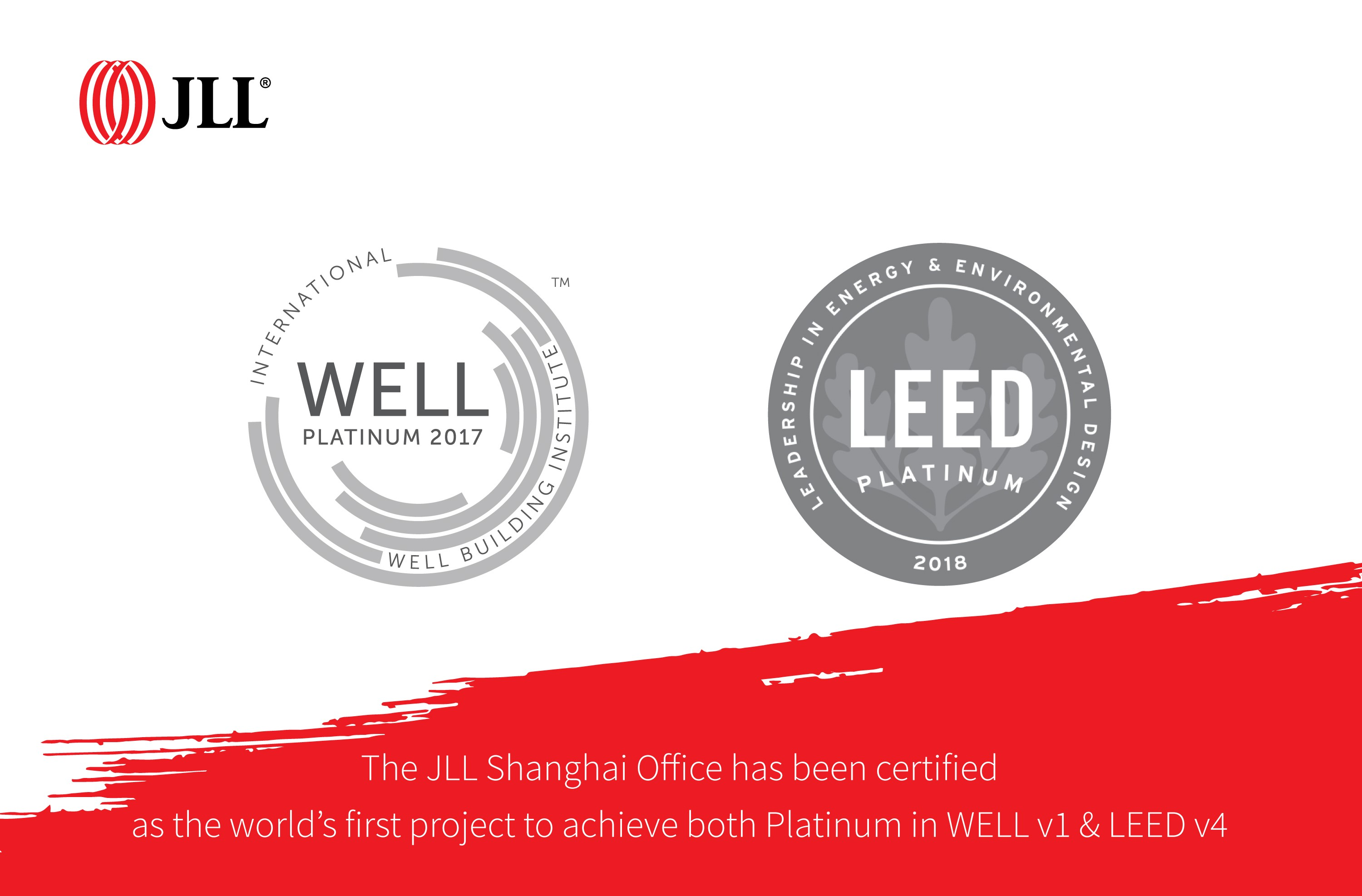 Jll Achieves World First Double Platinum In Building Standards