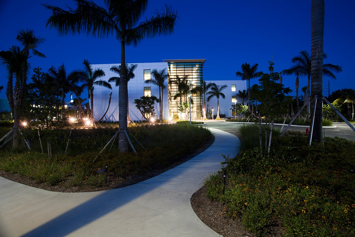 Max Planck Florida Institute Night view